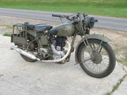 1942 Royal enfield WD/CO 350cc Motorcycle