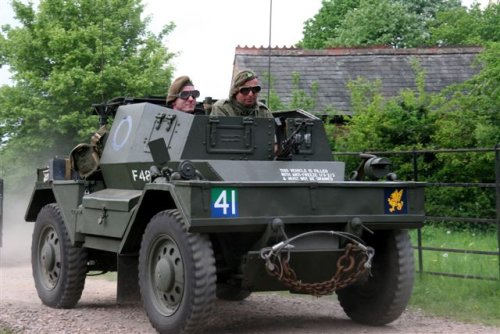 1942 Daimler Dingo Armoured Scout Car